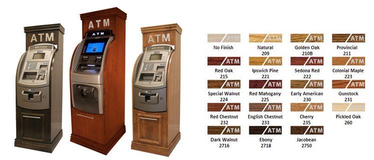 Hotel ATM Cabinet Color Choices