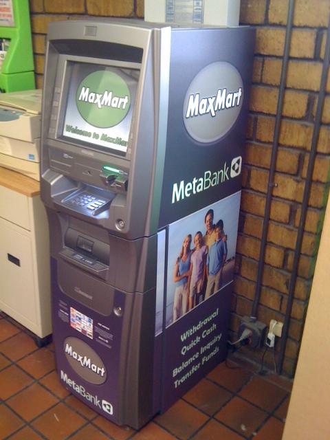 Maxmart ATM Machine
