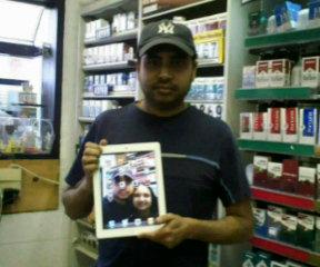 Winner of Apple iPad2